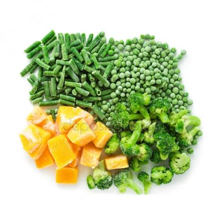 Nyers zöldségkeverék